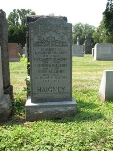 haigney headstone, Holy Cross