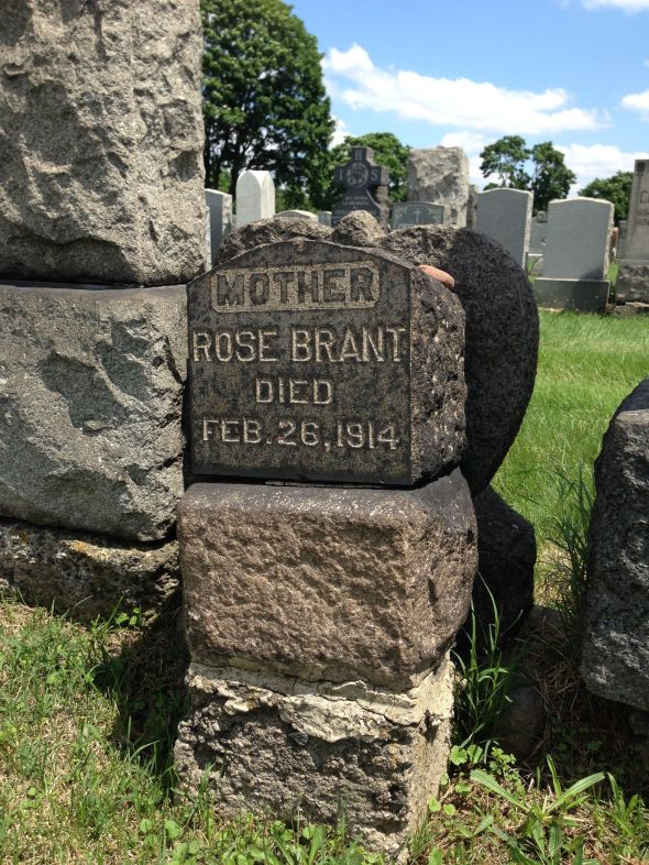 Marker for Rose (Connors) Brant, 1860-1914.